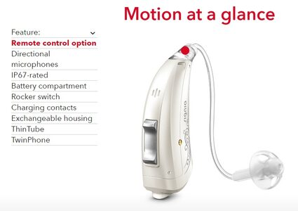 Motion: Sleek, easily controlled, effortless.